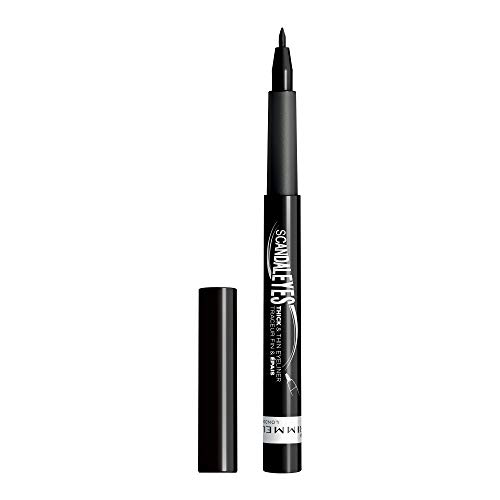 Rimmel Scandaleyes Thick/Thin Eye Liner, Black, 0.04 Fluid Ounce