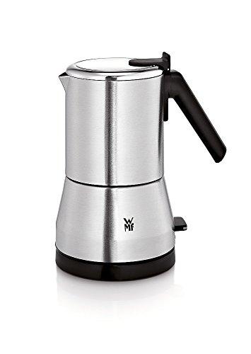 WMF KÜCHENminis Espressokocher, für 2 oder 4 Tassen, 400 W, cromargan matt/silber