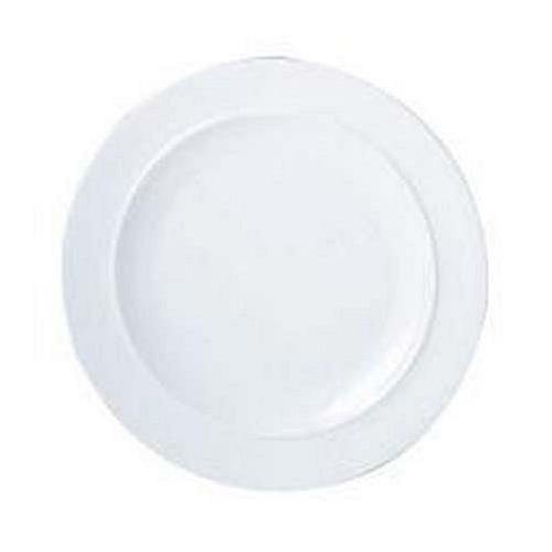 Denby White Dinner Plate by Denby