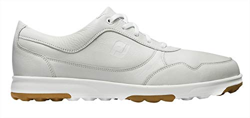 - FootJoy Men's Casual Suede Golf Gloves, White, 9 W US