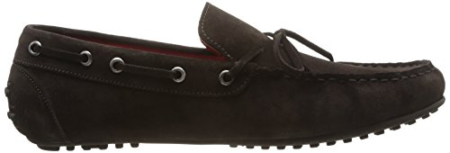 Hackett London Moccasins Bow - Mocasines para hombre, color Azul eléctrico Marrón