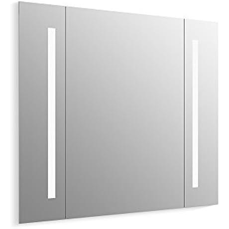 KOHLER 99573 TL NA Verdera Lighted Mirror Aluminum 40 X33