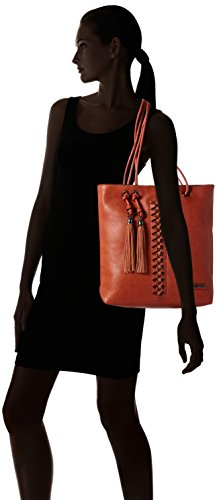 Bulaggi Perov Shopper - Bolsos totes Mujer Naranja (Burnt Orange)