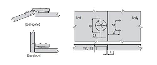 prestige k chenschr nke softclose scharnier 35 mm k chenausstattung k chenzubeh r shop. Black Bedroom Furniture Sets. Home Design Ideas