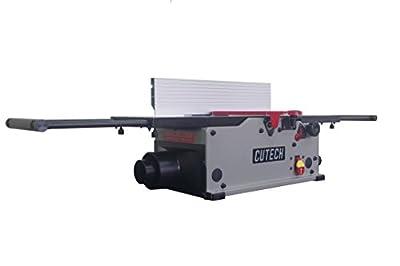 """Cutech 40180HC-CT 8"""" Bench Top Spiral Cutterhead Jointer with Carbide Tips"""