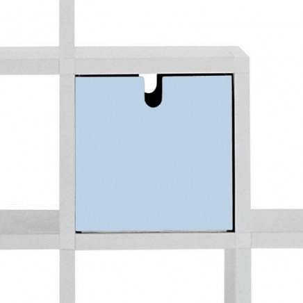 Kartell Modular Bookshelf Cube Drawer