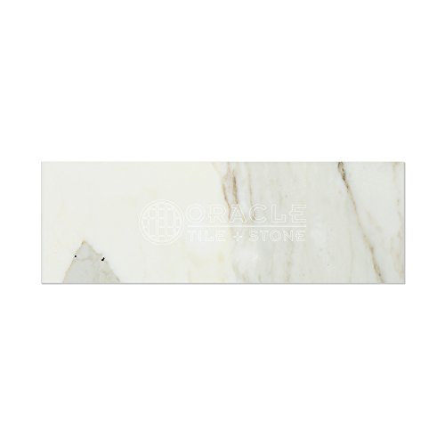 Calacatta Gold (Italian Calcutta) Marble 4 X 12 Field Tile, Honed