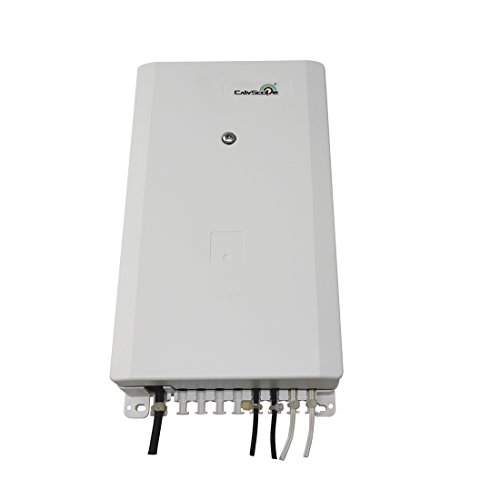 CATVSCOPE 8 Cores FTTH Fiber Optical Distributor or Drop Cable Box for SC/FC Adapter ()