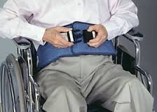 Skil-Care's Resident Release Soft Wheelchair Belt - Side-Release Buckle 301270