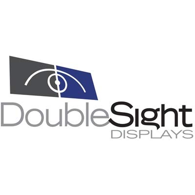 DoubleSight Displays - DS-224STB - DoubleSight Displays Flex DS-224STB Desk Mount for LCD Monitor, All-in-One Computer - TAA Compliant - 24 Screen Support - 40 lb Load Capacity - Black