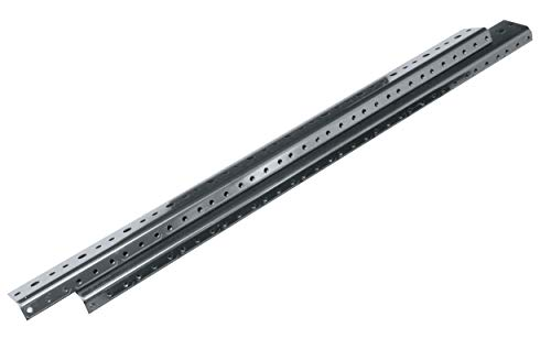 - Additional Rackrail for WR Series Roll Out Rotating System in Steel Enclosure Rack Height: 77