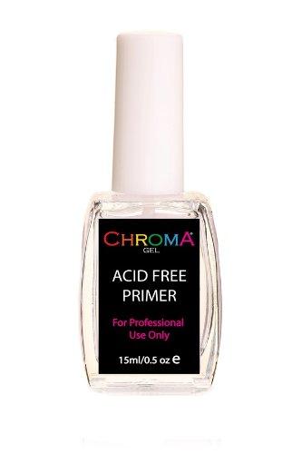 Chroma Gel Acid Free Primer | Nail Primer | Gel Nail Primer Beauty Hair Roducts CG-AFP