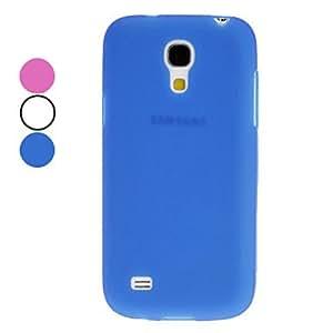 TPU Soft Case for Samsung Galaxy S4 Mini I9190 --- COLOR:Blue