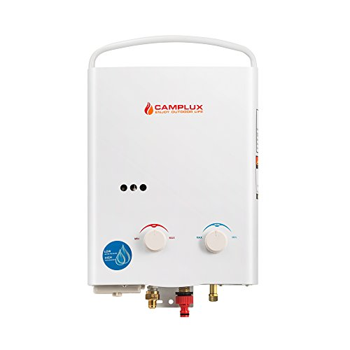 Camplux 5l Gpm Outdoor Portable Propane Tankless Water Import It All