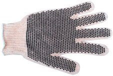 Kinco Warm Grip (Dot Grip Gloves, 2 sided, 1 Pair (Large))