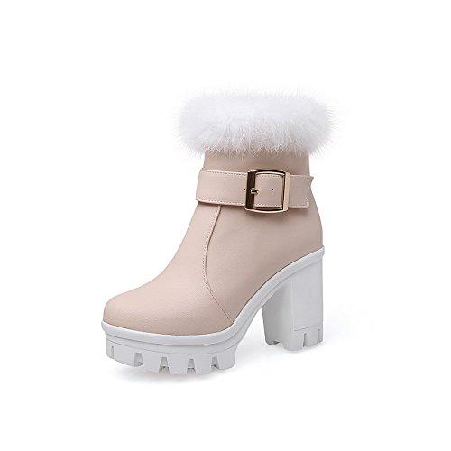 1TO9 - Stivali da neve donna, Beige (Beige), 35
