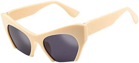 [해외]Sunglasses Hergoto Mens Womens Retro Vintage Irregular Frame Cat Eye Rapper Sunglasses Eyewear(E) / Sunglasses Hergoto Mens Womens Retro Vintage Irregular Frame Cat Eye Rapper Sunglasses Eyewear(E)
