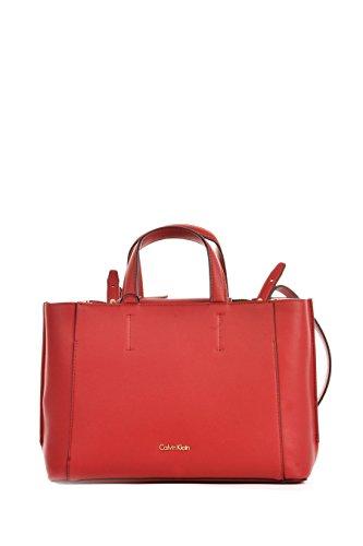 cm Calvin 30 Klein Sac Metropolitan Pink à Pastel Dahlia main Red wrwgYqU
