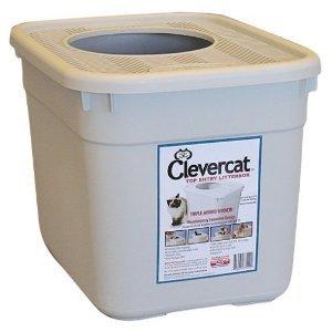 Clevercat Top Entry Litterbox, My Pet Supplies