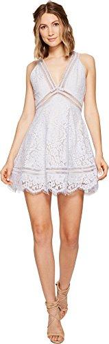 Keepsake The Label Women's Oblivion Lace Dress, Pale Blue, - Pale Lace Dress Blue