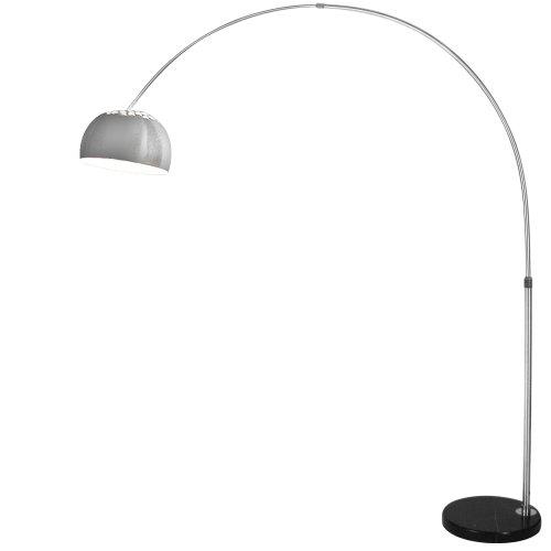 Bogenlampe mit Schalter Standleuchte ca. 140 x 190 cm längenverstellbar Bogenleuchte Innenleuchte