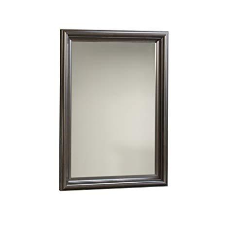 Sauder 401327 Mirror, Antiqued Paint Finish (Portrait Mirror Dresser)
