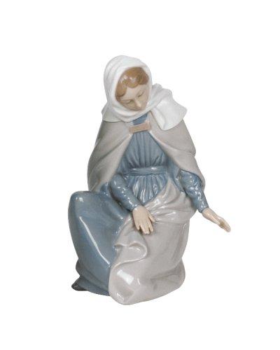 Irish Nativity Scene (Nao Virgin Mary Figurine)