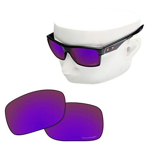 OOWLIT Replacement Lenses Compatible with Oakley TwoFace Sunglass Cosmic Combine8 ()