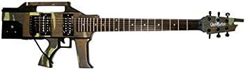 Glen Burton AK47 Machine Gun Electric Guitar Rifle (Camoflauge)