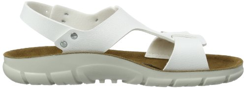 Birkenstock Professional SARAGOSSA BF 500873 - Sandalias para mujer Blanco (Weiß (WEISS))