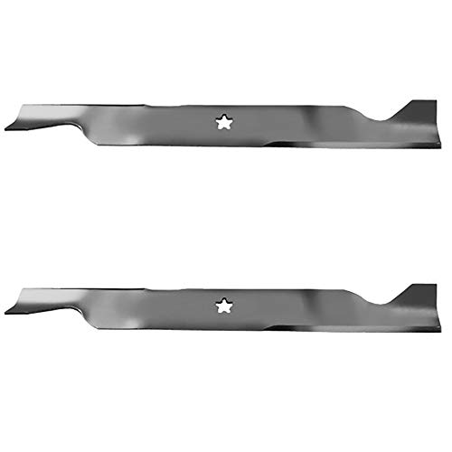((2) Replacement Mower Blades for Husqvarna Riding Mower Replaces 532405380)