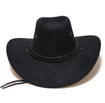 Cappello Cowboy Adulto Nero Ranch Sole  Amazon.it  Sport e tempo libero 03d292944720