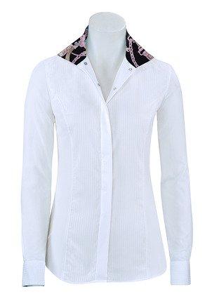 RJ Classics Ladies Prestige Show Shirt (Paige/Breast Cancer Ribbon, L)