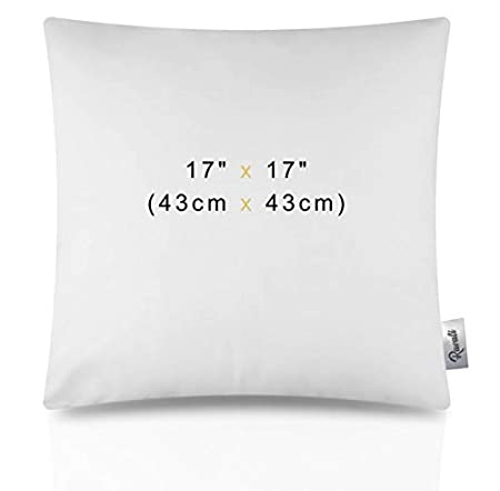 Chunky Sofa Cushion Pads 17 X 17 17Inch Cushion Inners 43 x43cm Penthouse Sleep 6 Pack of