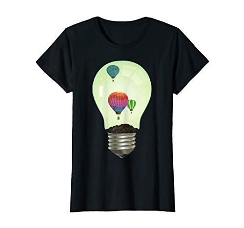 Balloons In A Bulb T-Shirt