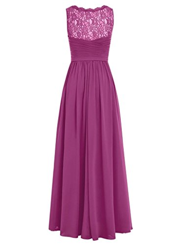 Prom Chiffon Dresses Evening Yellow Gowns Sheer Lace Neck Long Backless V Bridesmaid Cdress RagOU