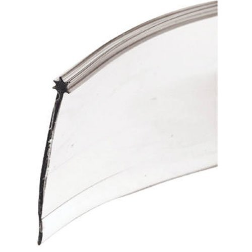 Prime-Line Products 194237 Shower Door Bottom Seal, Star, Clear delicate