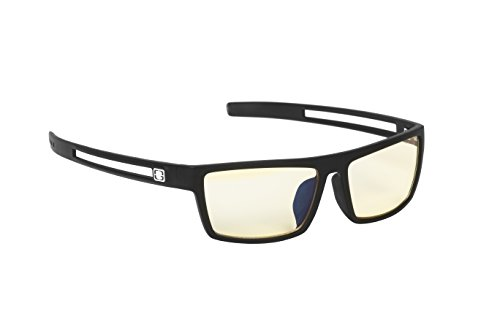 Gunnar Optiks Valve Computer Gaming Glasses - Block Blue Light, Anti-Glare and Minimize Digital Eye Strain - Prevent Headaches, Sleep Better, Reduce Eye Fatigue, Onyx - Not Machine Specific