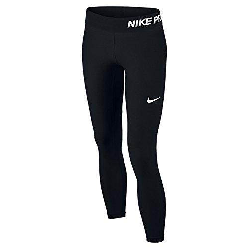 Nike Mädchen Oberbekleidung Pro Tights, schwarz, S, 743730-010