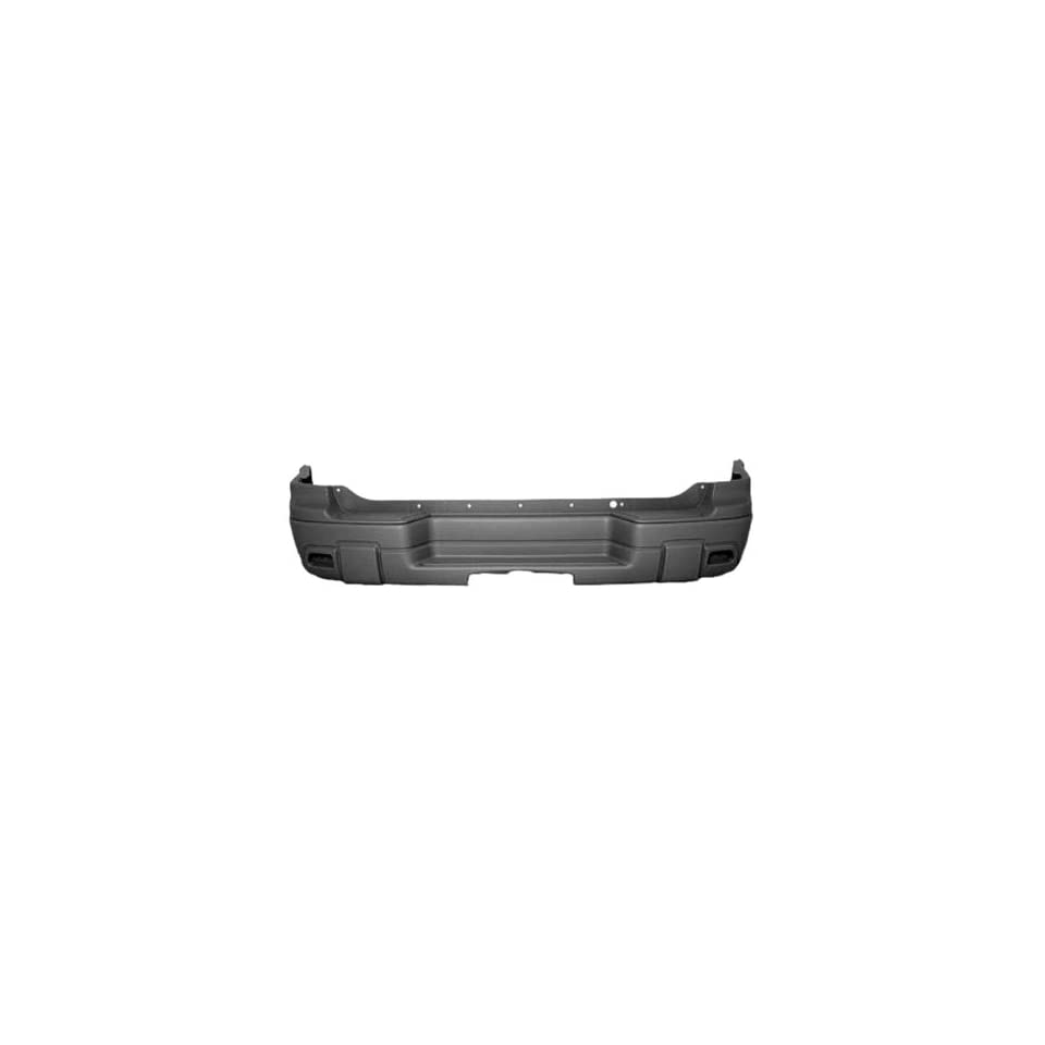 OE Replacement Chevrolet Trailblazer Rear Bumper Cover (Partslink Number GM1100627)