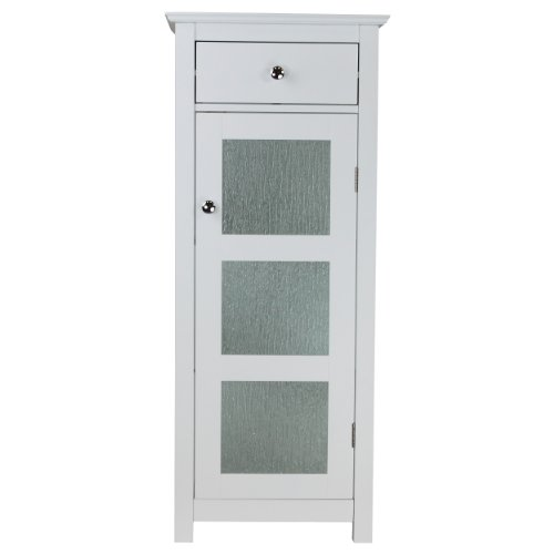Elegant Home Fashions Dixie Floor Cabinet with 1 Door and 1 Drawer