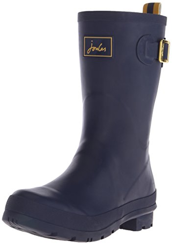 French Welly Joules Women's Boot Rain Navy Kelly 6Rw1xawpq