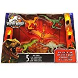 Mini Dino 5 Pack Dinosaurs 2.5' Jurassic World Legacy Collection with Spinosaurus