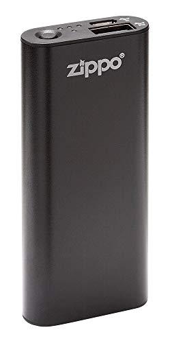 (Zippo Black HeatBank 3 Rechargeable Hand Warmer)