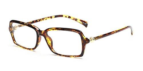 Slocyclub Women's Old School Rectangular Plastic Eyewear - Goggles Aviator Old School