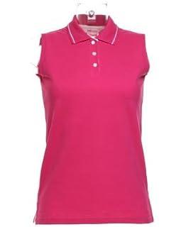 6d91036dd0627f James   Nicholson JN159 Ladies Stretch Sleeveless Polo Shirt  Amazon ...