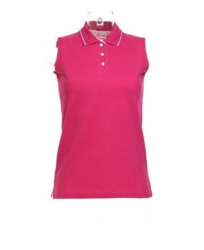 1eb93234dab0bd Kustom Kit Womens Ladies Plain Sleeveless Tennis Polo Shirt  Amazon.co.uk   Clothing