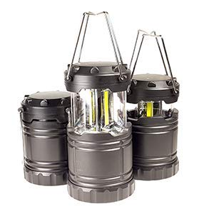 1TAC Ultra Power Pro Lantern cOB LED 500 Lumen Light, Ultra Light Tactical Grade ABS Thermoplastic Polymer, Pop Up Instant On, Magnetic Base, Utility Hook and Retractable Handles (1)