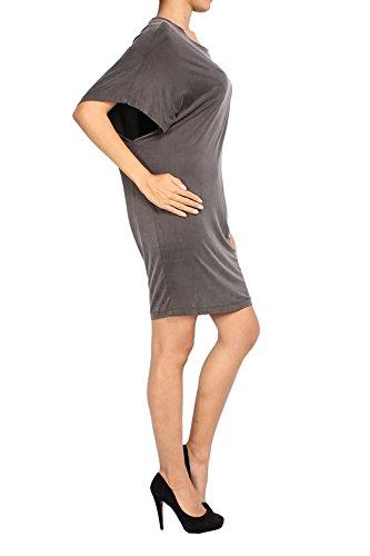 DIESEL - Vestido para Mujer GERTRUDE gris