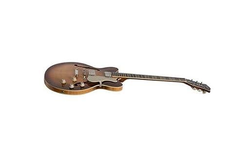 Hofner hof-hct-vth-lsb-o semi-hollow-body guitarra eléctrica: Amazon.es: Instrumentos musicales